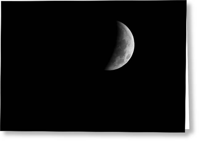Eclipse Greeting Cards - Earths Shadow Greeting Card by Jim DeLillo