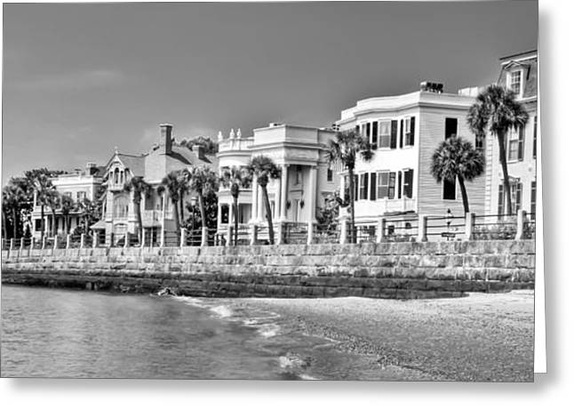 Charming Town Greeting Cards - East Battery  Greeting Card by Drew Castelhano