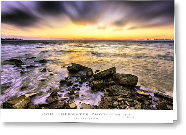 San Francisco Bay Greeting Cards - East Bay View Greeting Card by PhotoWorks By Don Hoekwater