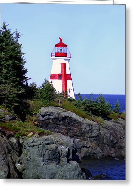 East Quoddy Lighthouse Greeting Cards - East Quoddy Lighthouse Greeting Card by Martin Massari