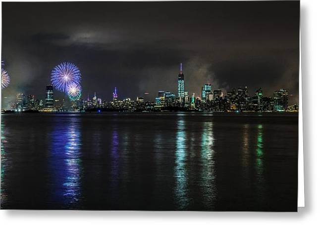 4th July Photographs Greeting Cards - East to West River Greeting Card by Jed Smith
