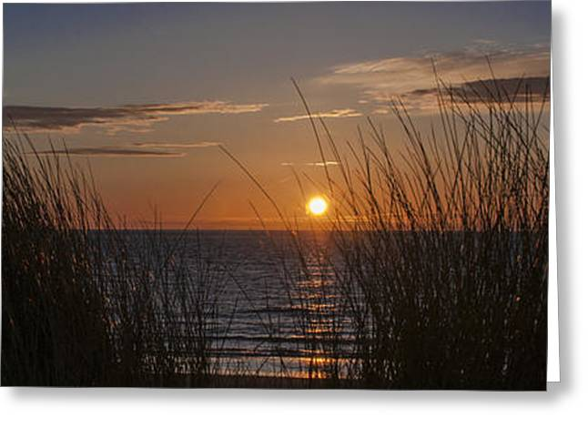 Abstract Beach Landscape Greeting Cards - Easter Beach part 2 Greeting Card by Alex Hiemstra
