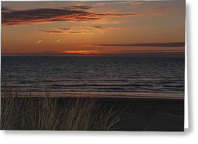 Abstract Beach Landscape Greeting Cards - Easter Beach part 6 Greeting Card by Alex Hiemstra