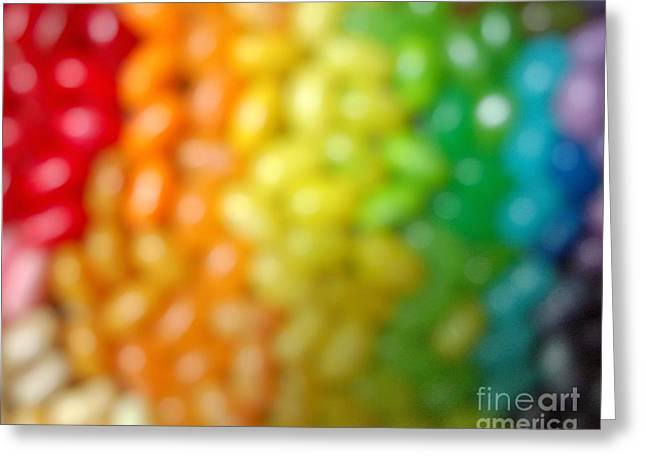 Yes We Can Greeting Cards - United States Rainbow LOVE IS LOVE Greeting Card by Mingtaphotography