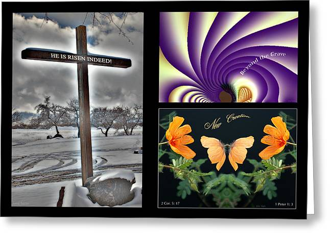 Eastereality Greeting Card by Greg Taylor