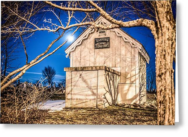 Eastern Cemetery Greeting Card by Tim Sullivan