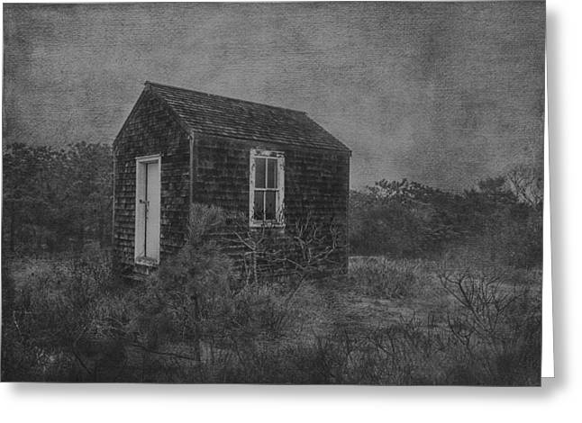 Massachusetts Greeting Cards - Eastham Shack Greeting Card by Kate Hannon