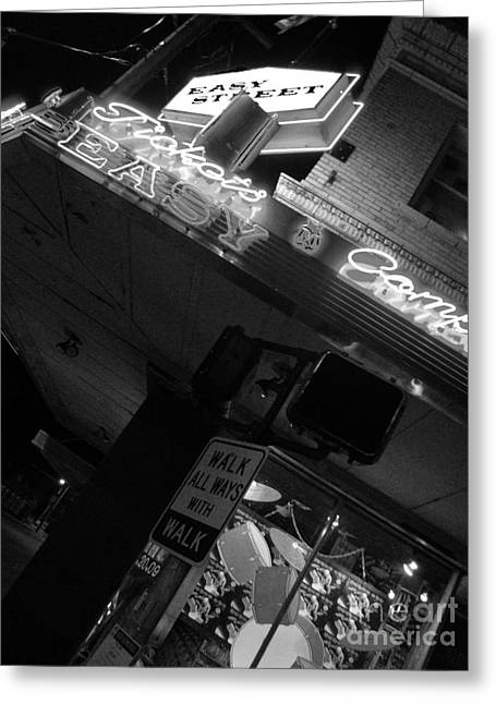 Pearl Jam Photographs Greeting Cards - Easy Street Greeting Card by Nathan  Brend