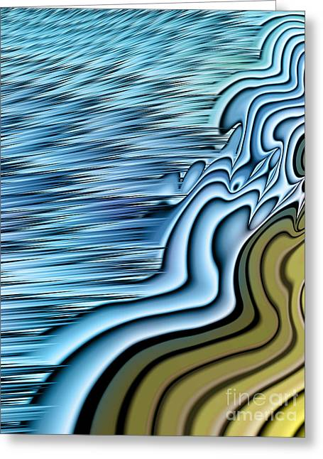 Tidal Greeting Cards - Ebb Tide Greeting Card by John Edwards