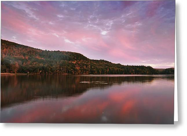 Echo Lake Sunset Greeting Card by Joseph Rossbach
