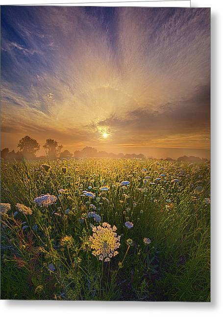 Echos The Sound Of Silence Greeting Card by Phil Koch
