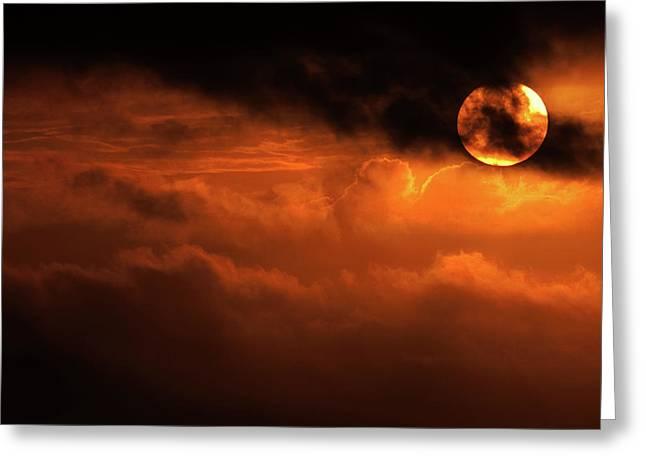 Eclipse Greeting Cards - Eclipse Greeting Card by Andrew Paranavitana