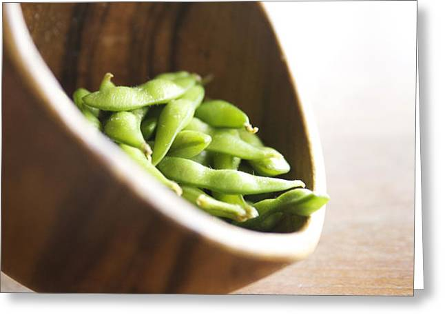 Edamame Greeting Card by Kicka Witte - Printscapes