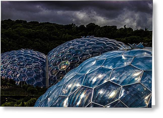 Project Greeting Cards - Eden Project Cornwall Greeting Card by Martin Newman