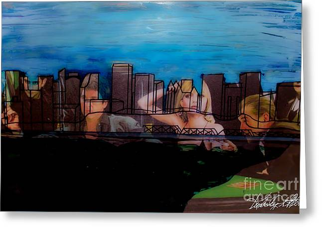 Michelle Greeting Cards - Edmonton Landscape 1 Greeting Card by Kim Peto