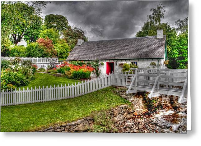 Distillery Greeting Cards - Edradour Distillery Shop Greeting Card by Chris Thaxter