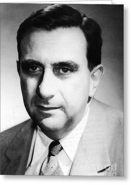 Co-founder Greeting Cards - Edward Teller, Hungarian-american Greeting Card by Science Source