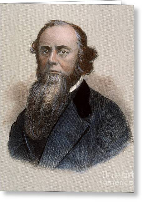 Statesman Greeting Cards - Edwin M. Stanton Greeting Card by Granger