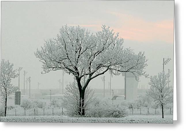 Eerie Days Greeting Card by Christine Till