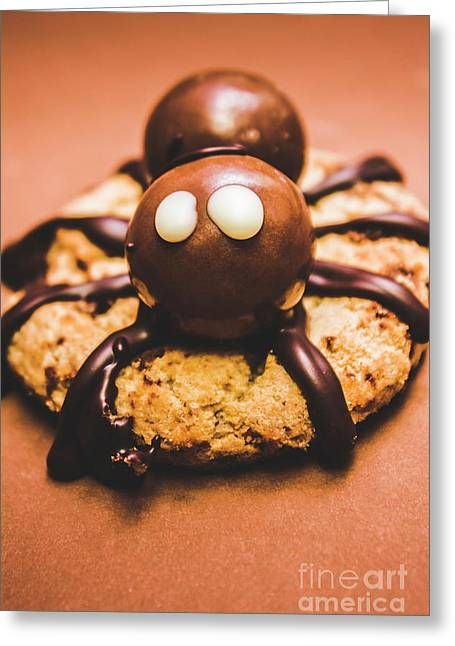Eerie Monsters. Halloween Baking Treat Greeting Card by Jorgo Photography - Wall Art Gallery