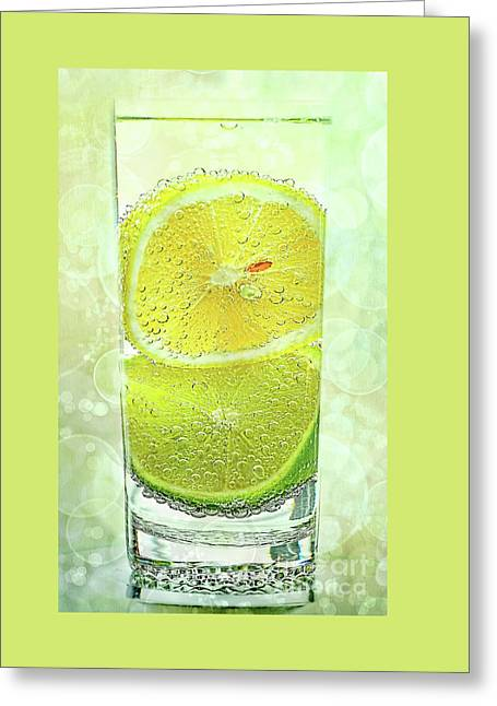 Effervescent Freshness By Kaye Menner Greeting Card by Kaye Menner