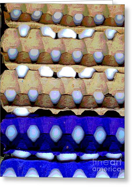 Gypsy Greeting Cards - Egg Crates by Darian Day Greeting Card by Olden Mexico