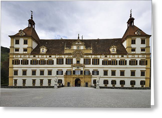 Styria Greeting Cards - Eggenberg palace Greeting Card by Ivan Slosar