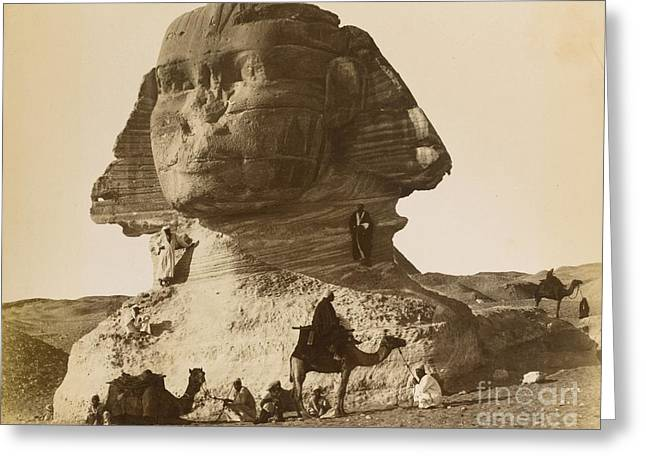 C.1870 Greeting Cards - Egypt Greeting Card by MotionAge Designs