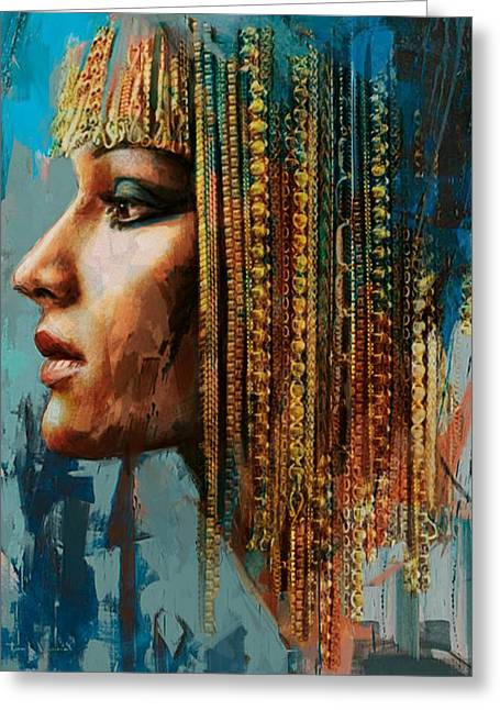 Egypt Greeting Cards - Egyptian Culture 1 Greeting Card by Mahnoor Shah