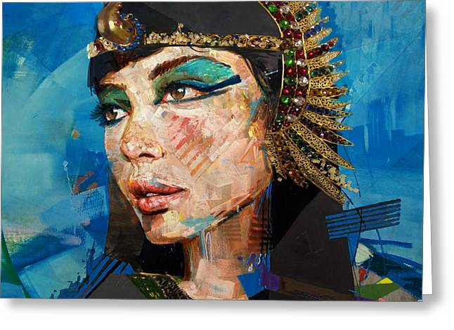 Pyramids Greeting Cards - Egyptian Culture 25 Greeting Card by Mahnoor shah