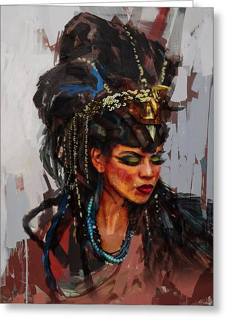 Giza Greeting Cards - Egyptian Culture 26 Greeting Card by Maryam Mughal