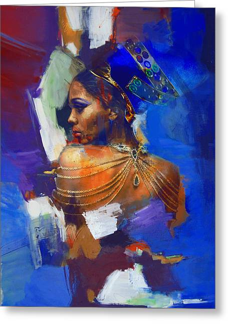 Egyptian Culture 33 Greeting Card by Mahnoor Shah