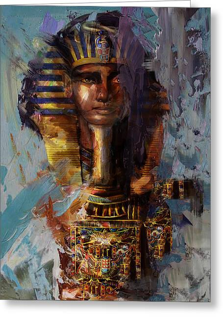 Egyptian Culture 37 Greeting Card by Maryam Mughal