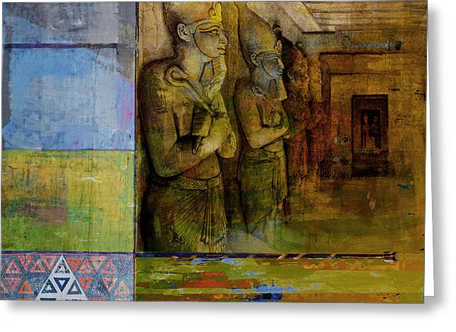 Egyptian Culture 49 Greeting Card by Corporate Art Task Force