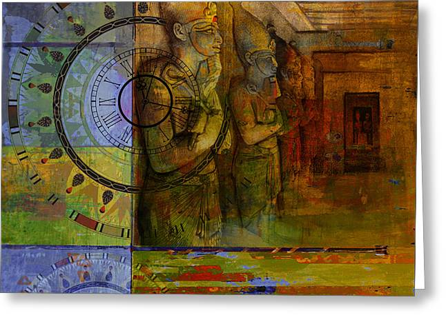 Egyptian Culture 49b Greeting Card by Corporate Art Task Froce