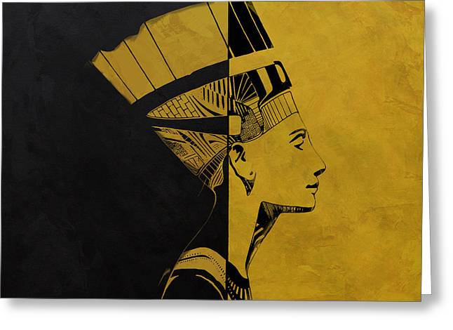 Pharaoh Greeting Cards - Egyptian Culture 53c Greeting Card by Corporate Art Task Force