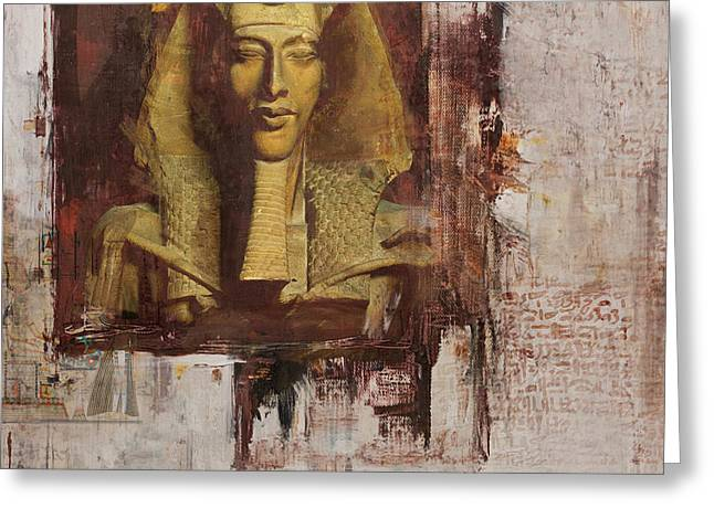 Pyramids Greeting Cards - Egyptian Culture 55 Greeting Card by Corporate Art Task Force