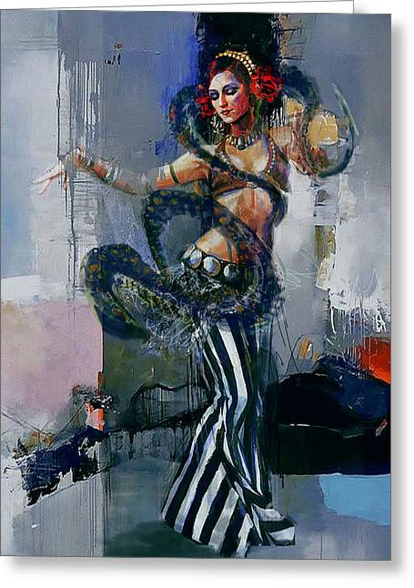 Egyptian Culture 79b Greeting Card by Corporate Art Task Force