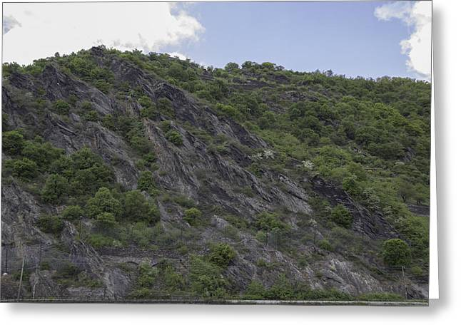 Geologic Formations Greeting Cards - Ehrenthal 07 Greeting Card by Teresa Mucha