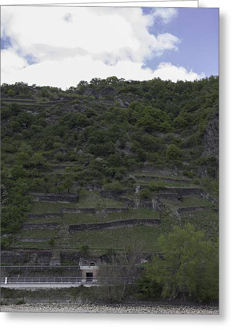 Geologic Formations Greeting Cards - Ehrenthal 09 Greeting Card by Teresa Mucha