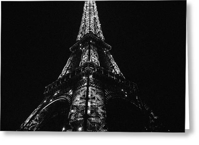 Eiffel Tower Illumination Greeting Card by Marcus Karlsson Sall