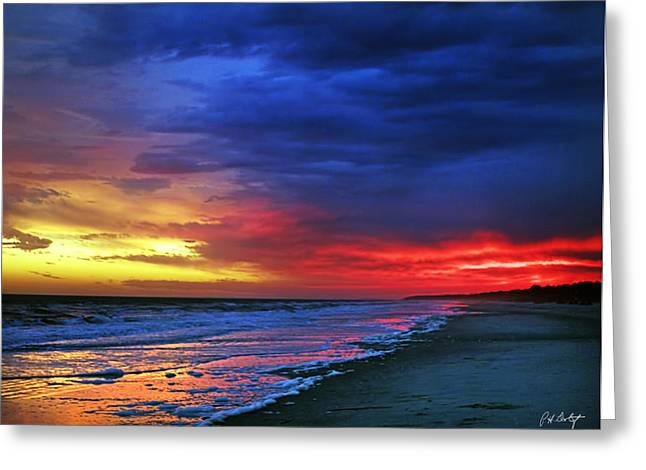 Photographic Images Greeting Cards - Eight Minutes on the Beach Greeting Card by Phill  Doherty