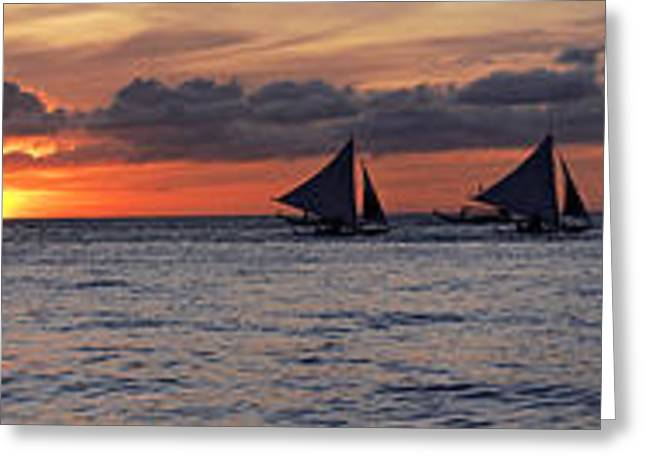 Canon 40d Greeting Cards - Eight Sailer Greeting Card by Joerg Lingnau