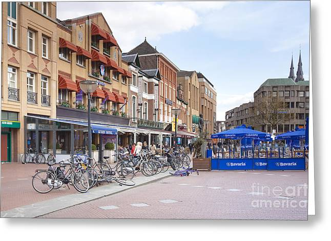 Eindhoven Greeting Card by Andre Goncalves