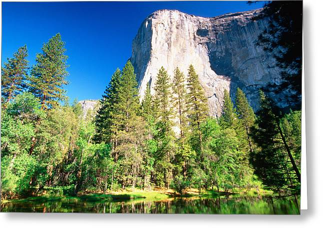 El Capitan In Morning Light Greeting Card by George Oze