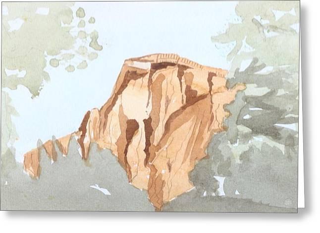 Vale Greeting Cards - El Capitan Greeting Card by Jim Green