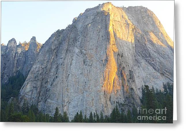 California Tourist Spots Greeting Cards - El Capitan The Charmer Greeting Card by Cty  Mac