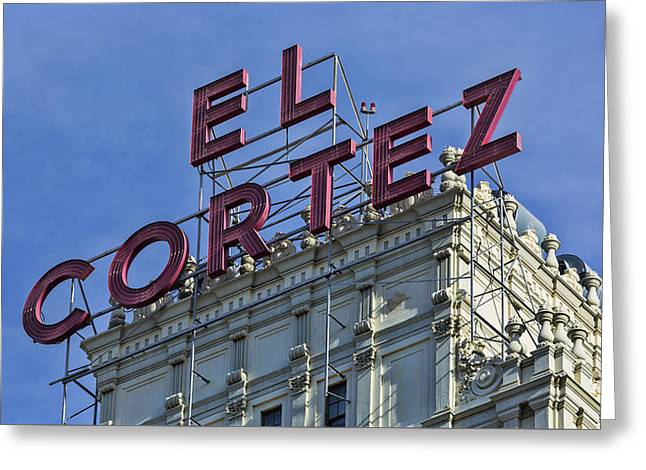 El Cotez San Diego Greeting Card by Stephen Stookey