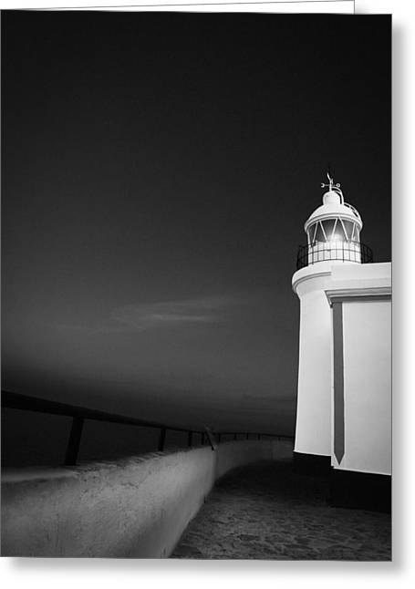 Viewpoint Greeting Cards - El Faro de l Albir Greeting Card by Erik Brede