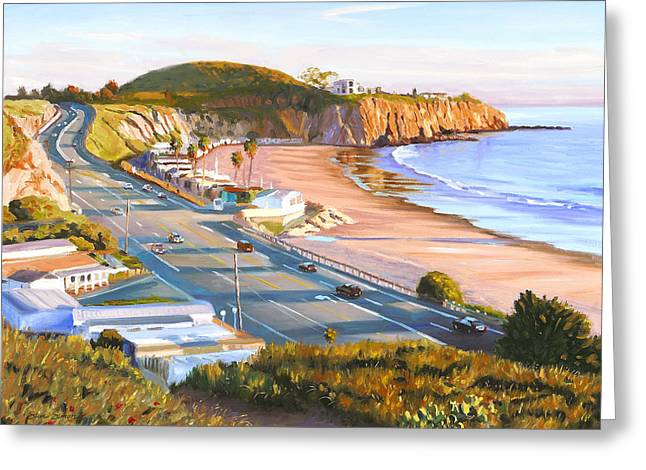 El Greeting Cards - El Morro Trailer Park Greeting Card by Steve Simon